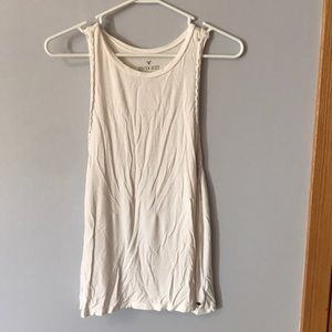 Side braided soft and sexy tank